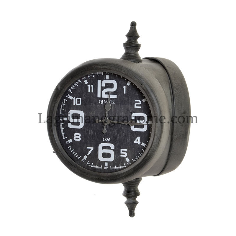 Reloj doble industrial
